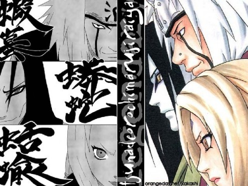 The Sannin are now by one...what do you call them now?