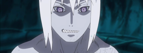 There he is!  Suigetsu...Sasuke's first teammate.