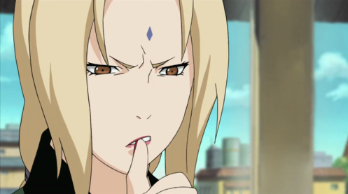Think, Tsunade.  Think REAL hard:  who is your other enemy?  Do black robes with red clouds ring a bell?