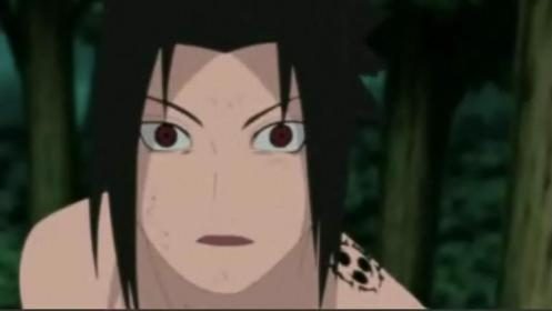 Ok, Deidara.  You have managed to get a reaction from this Uchiha.  Even Sasuke is shocked at this C4 monster.