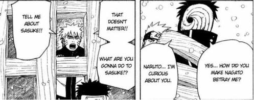 You know, Madara.  Small talk was never your style.  I suggest you go back to being invisible.