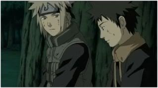 A Sensei and student heart-to-heart.  An incredible moment for all of us as we finally hear the painful story of Kakashi.