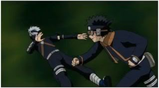 Nice punch, Obito!  Hopefully this humbles Kakashi a bit...