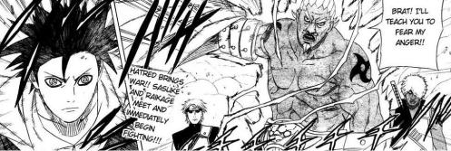 Sasuke versus Raikage.  Will someone clue in this Kage that his Jinchuuriki brother is STILL alive????