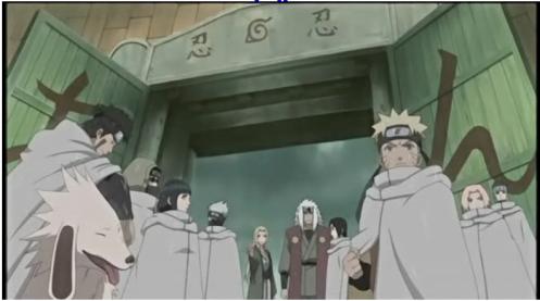 The final order by Tsunade - and to Naruto:  Don't stop at Ichiraku first...