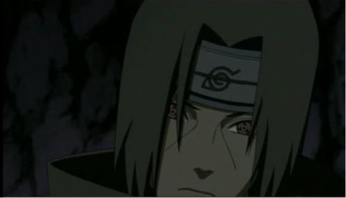 "Hmmmm...it has always been hard to read Itachi.  What exactly is he feeling about the ""news"" about Sasuke?  Relief?  Sadness or...?"