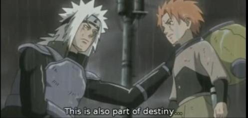 Jiraiya showing why he is possibly the greatest of the Sannin - his deep compassion for others.