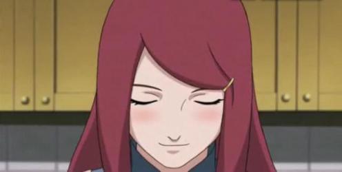 The radiant soon-to-be mother of Minato Namikaze's son:  Kushina Uzumaki.