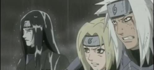The moment these three became legends;  The Legendary Sannin