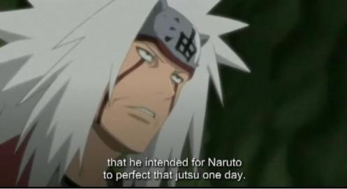 """That jutsu?""  And, what do you mean, Jiraiya?  Care to clue us in?"